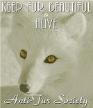Fur and skin trade - Fur coat white fur alive